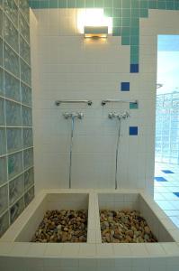 Ein Badezimmer in der Unterkunft Penzion Tematin