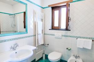 A bathroom at Agriturismo Acquabona
