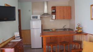 A kitchen or kitchenette at Castillo Playa