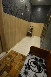 Кровать или кровати в номере Apartment on Bredova 3