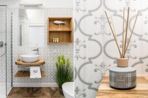 Łazienka w obiekcie Parkowa