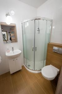 Łazienka w obiekcie Orzechowy