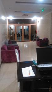 O saguão ou recepção de Almakan Hotel 103
