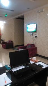 Área de negócios e/ou sala de conferências em Almakan Hotel 103