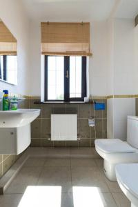 Ванная комната в Panorama Guest House Suzdal