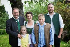 Rodina v ubytovaní Stillinghof