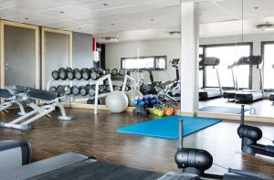 Salle ou équipements de sports de l'établissement Comfort Hotel RunWay