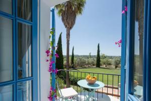 A balcony or terrace at Finca Son Miranda - Hotel LA Organic