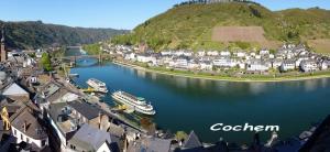 A bird's-eye view of Gasthaus Pension Moselgruss