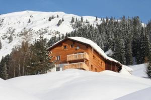 Haus Sonnenschein im Winter