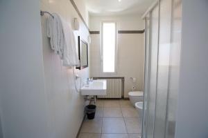 Ένα μπάνιο στο Hotel Arcoveggio