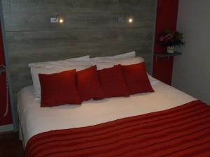 Un ou plusieurs lits dans un hébergement de l'établissement Auberge de la Terrasse