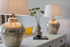 Getränke in der Unterkunft Abnoba Mons Design Apartment Lenzkirch