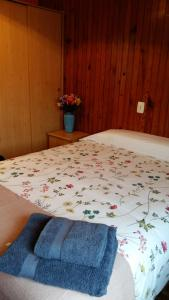 A bed or beds in a room at B&B Muralla Romana 4o planta