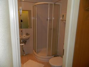 Ванная комната в Отель Таймаут