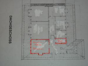 Grundriss der Unterkunft HirschHöhle