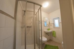 Ein Badezimmer in der Unterkunft Haus Vis a vis