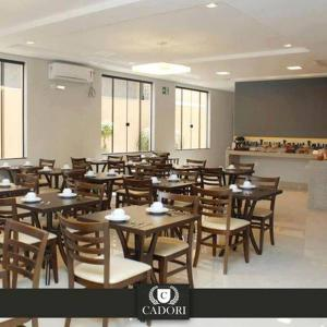 A restaurant or other place to eat at Hotel Cadori