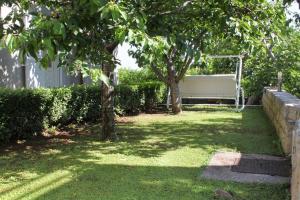 A garden outside Double Room Mlini 9043a