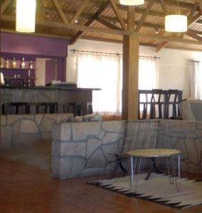 The lounge or bar area at Hotel de Las Nubes