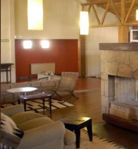 A seating area at Hotel de Las Nubes