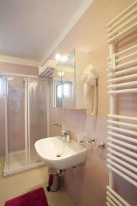 Kúpeľňa v ubytovaní Vila Novak