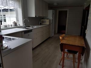 Kjøkken eller kjøkkenkrok på Presthus Gård