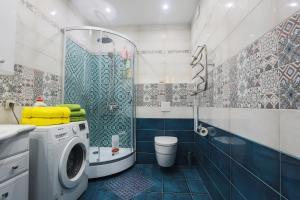 Ванная комната в Complex Apartments near Novodevichiy