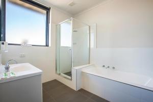 A bathroom at Nightcap at St Albans Hotel