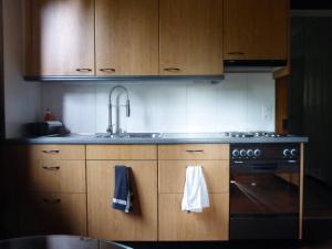 Küche/Küchenzeile in der Unterkunft Chalet in Bern