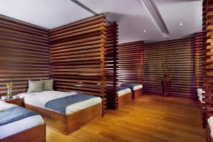 Cama o camas de una habitación en TRS Turquesa Hotel - Adults Only - All Inclusive