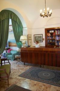 Hall o reception di Hotel Villa Augustus