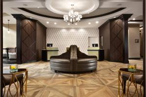 The lobby or reception area at DoubleTree by Hilton Charleston Mount Pleasant