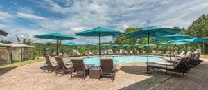 The swimming pool at or near Valhalla Resort Hotel