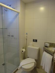 Ванная комната в Aquarena Hotel