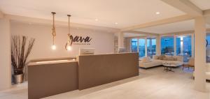 The lobby or reception area at Gava Waterman Milna Resort – All Inclusive