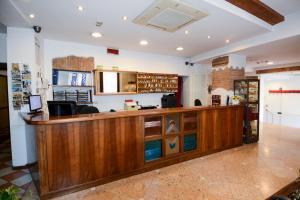 Hall ou réception de l'établissement Abc Comfort Hotel Mantova City Centre