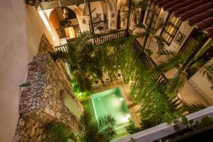 A view of the pool at Casa de Alba Hotel Boutique or nearby