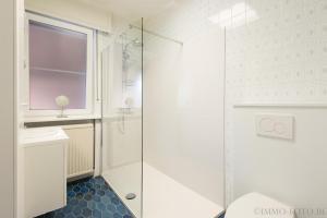 Ванная комната в Holiday home Zelenachten