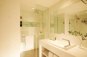 A bathroom at GLAD Yeouido
