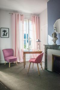 Zona de estar de Hotel Mirabeau