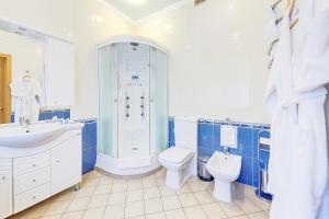 Ванная комната в Гостиница Очарованный Странник