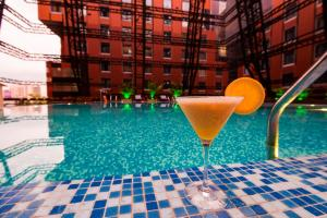 The swimming pool at or close to The Orchid Hotel Hinjewadi Pune