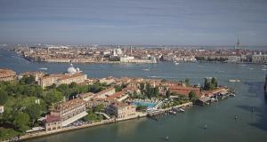 Vue panoramique sur l'établissement Cipriani, A Belmond Hotel, Venice