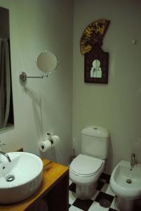 A bathroom at El Lacayo de Sestiello