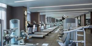 The fitness centre and/or fitness facilities at Hyatt Centric Times Square New York