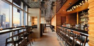 A restaurant or other place to eat at Hyatt Centric Times Square New York
