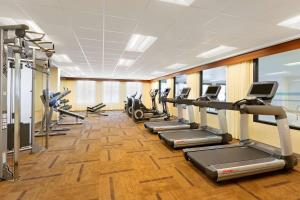 The fitness center and/or fitness facilities at Hyatt Place Austin Downtown