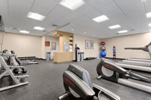 The fitness center and/or fitness facilities at TownePlace Suites by Marriott Charleston Mt. Pleasant