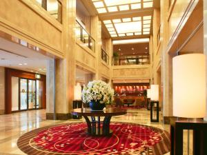 The lobby or reception area at Hotel Nikko Nara